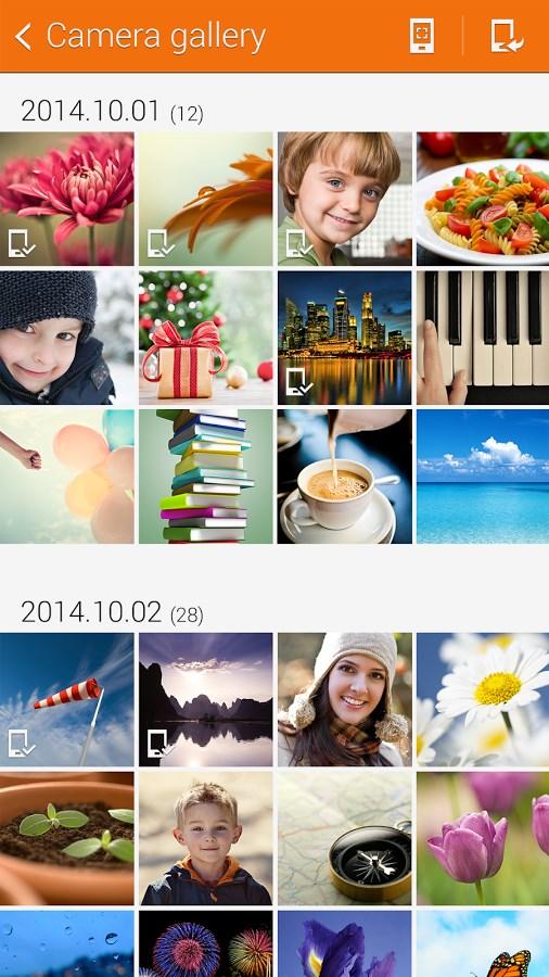Samsung Camera Manager App - Imagem 2 do software