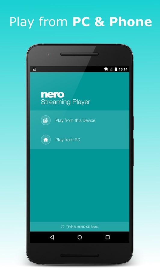 Nero Streaming Player - Imagem 2 do software