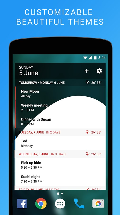 Calendar Widget: Agenda - Imagem 1 do software
