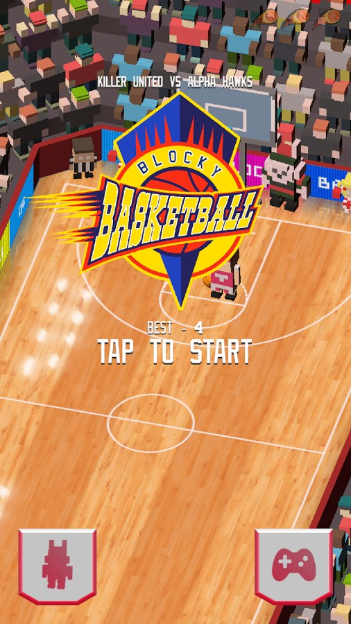 Blocky Basketball - Imagem 1 do software