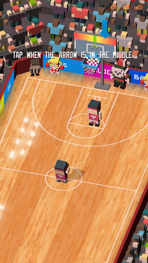 Blocky Basketball - Imagem 2 do software