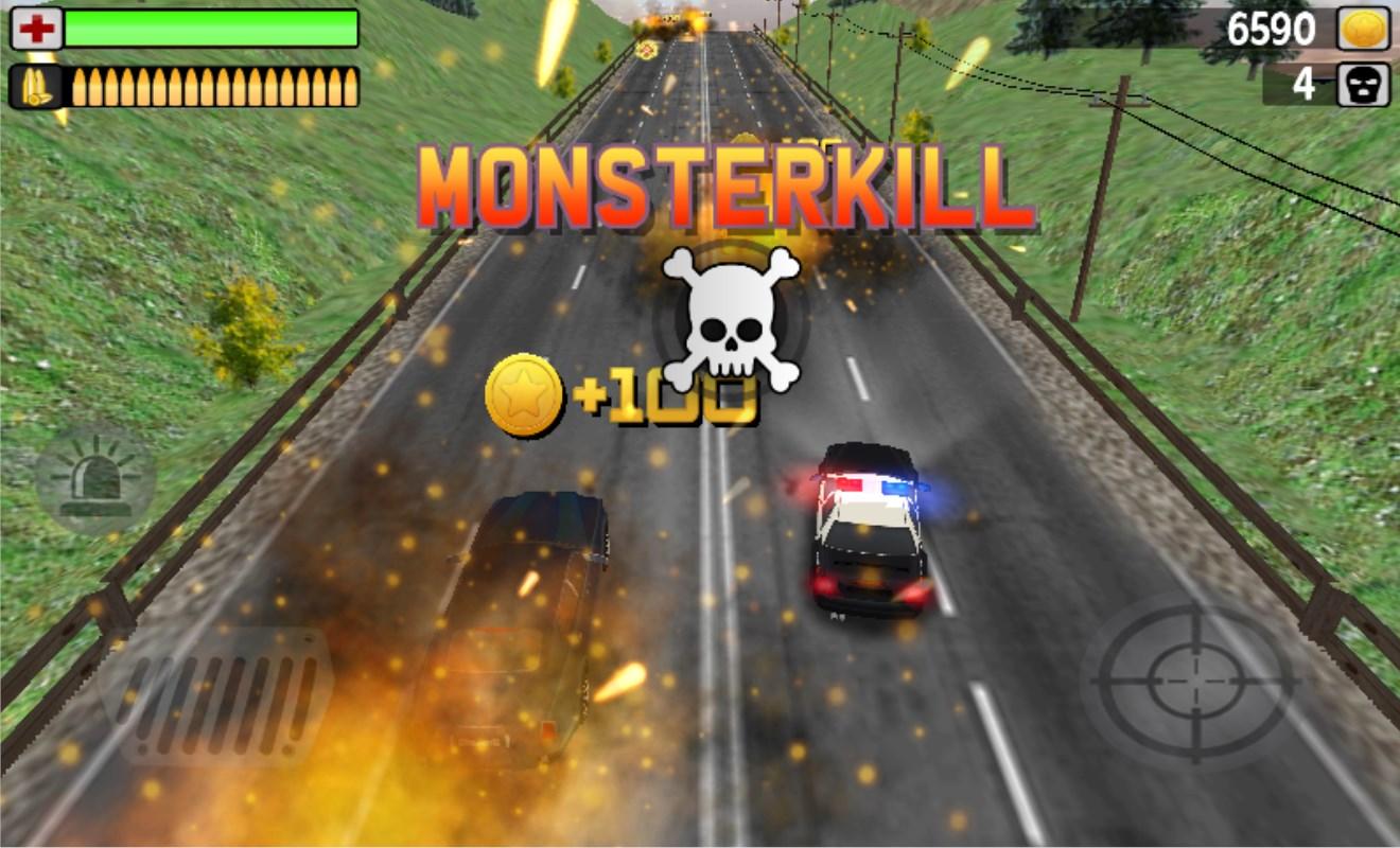 POLICE MONSTERKILL 3D - Imagem 1 do software