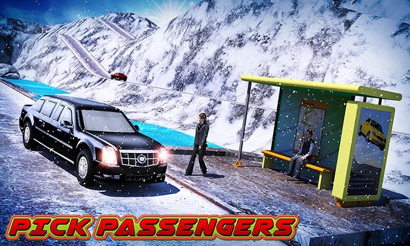 Offroad Hill Limo Driving 3D - Imagem 1 do software