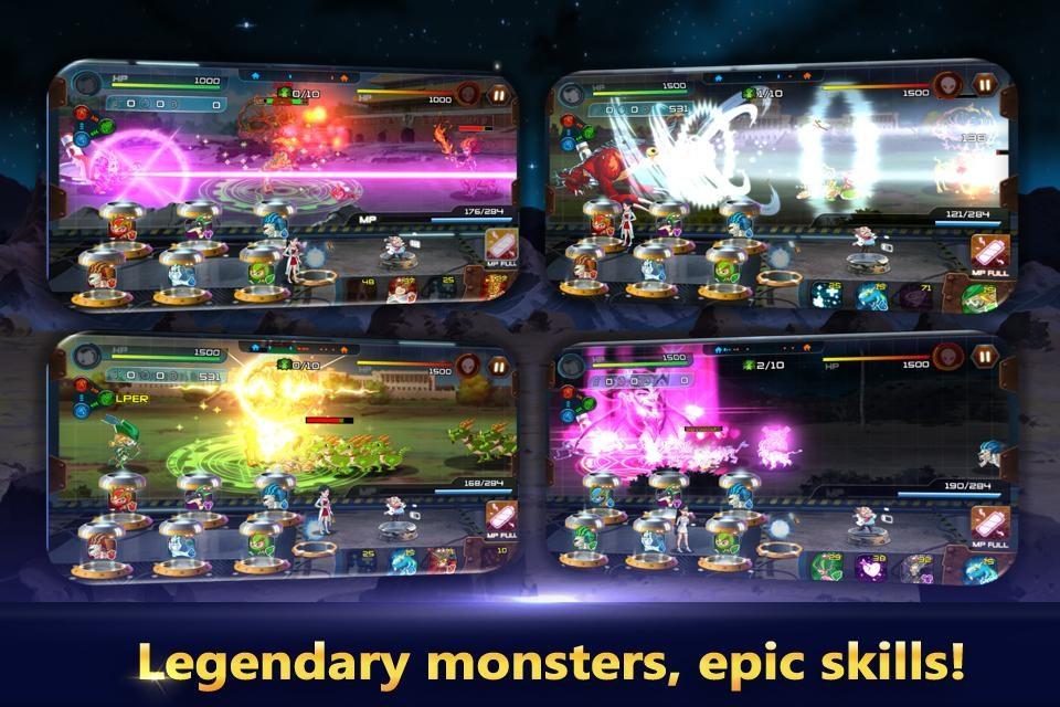 Monster Builder: Craft, Defend - Imagem 1 do software