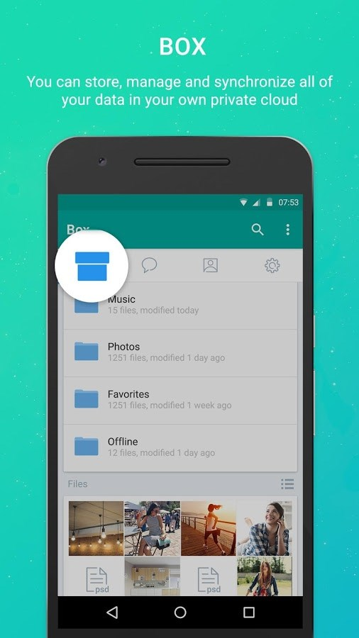Pibox Messaging App - Imagem 2 do software