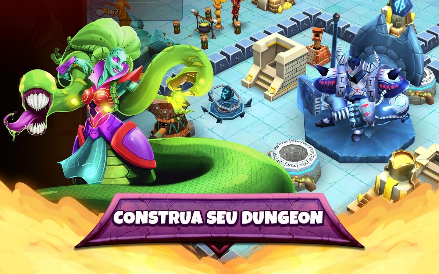 Dungeon Battles Heroes of the Throne - Imagem 1 do software