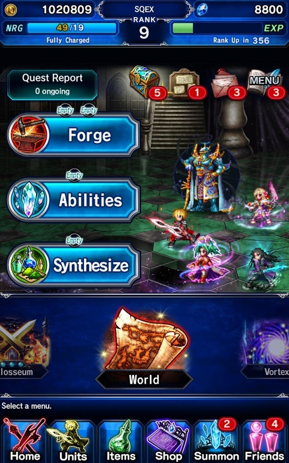 Final Fantasy Brave Exvius - Imagem 2 do software