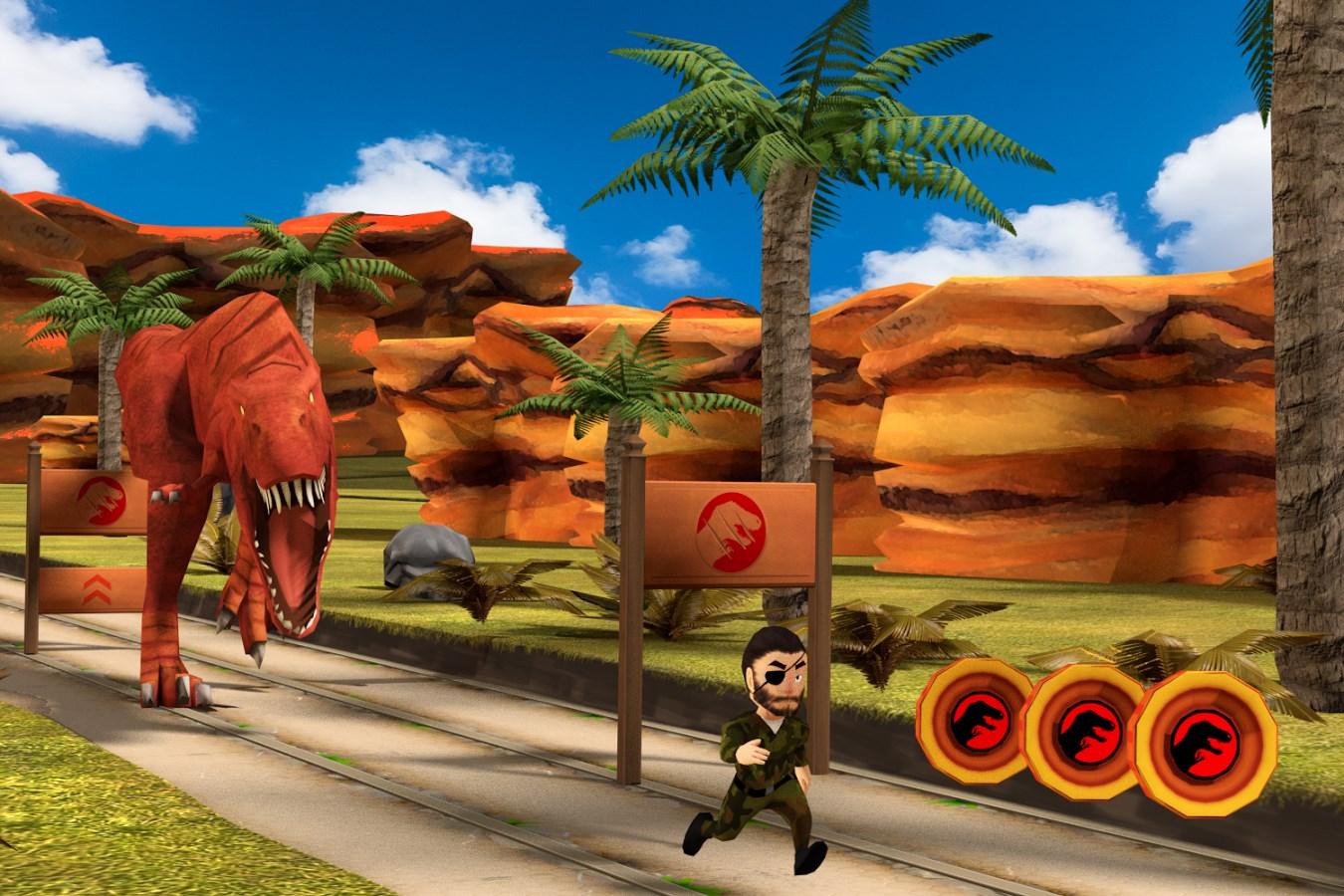Safari Run Dinosaur - Imagem 1 do software