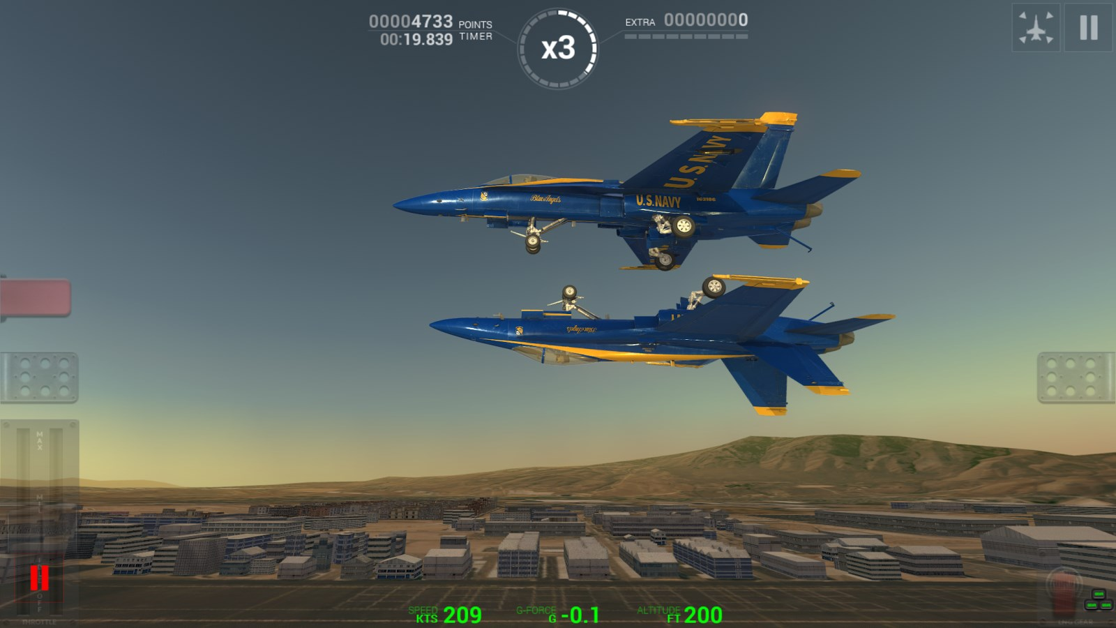 Blue Angels - Aerobatic SIM - Imagem 3 do software