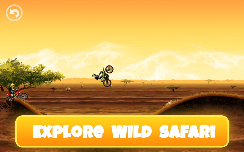 Safari Motocross Racing - Imagem 1 do software