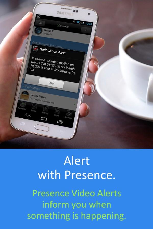 Presence - Imagem 2 do software