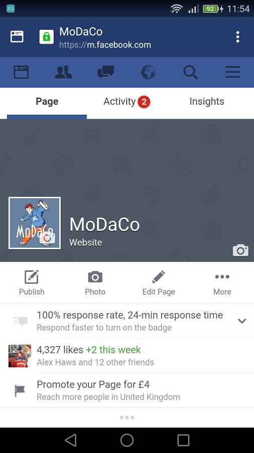 Simply for Facebook - Imagem 2 do software