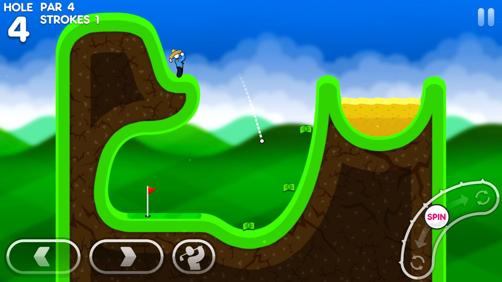 Super Stickman Golf 3 - Imagem 1 do software
