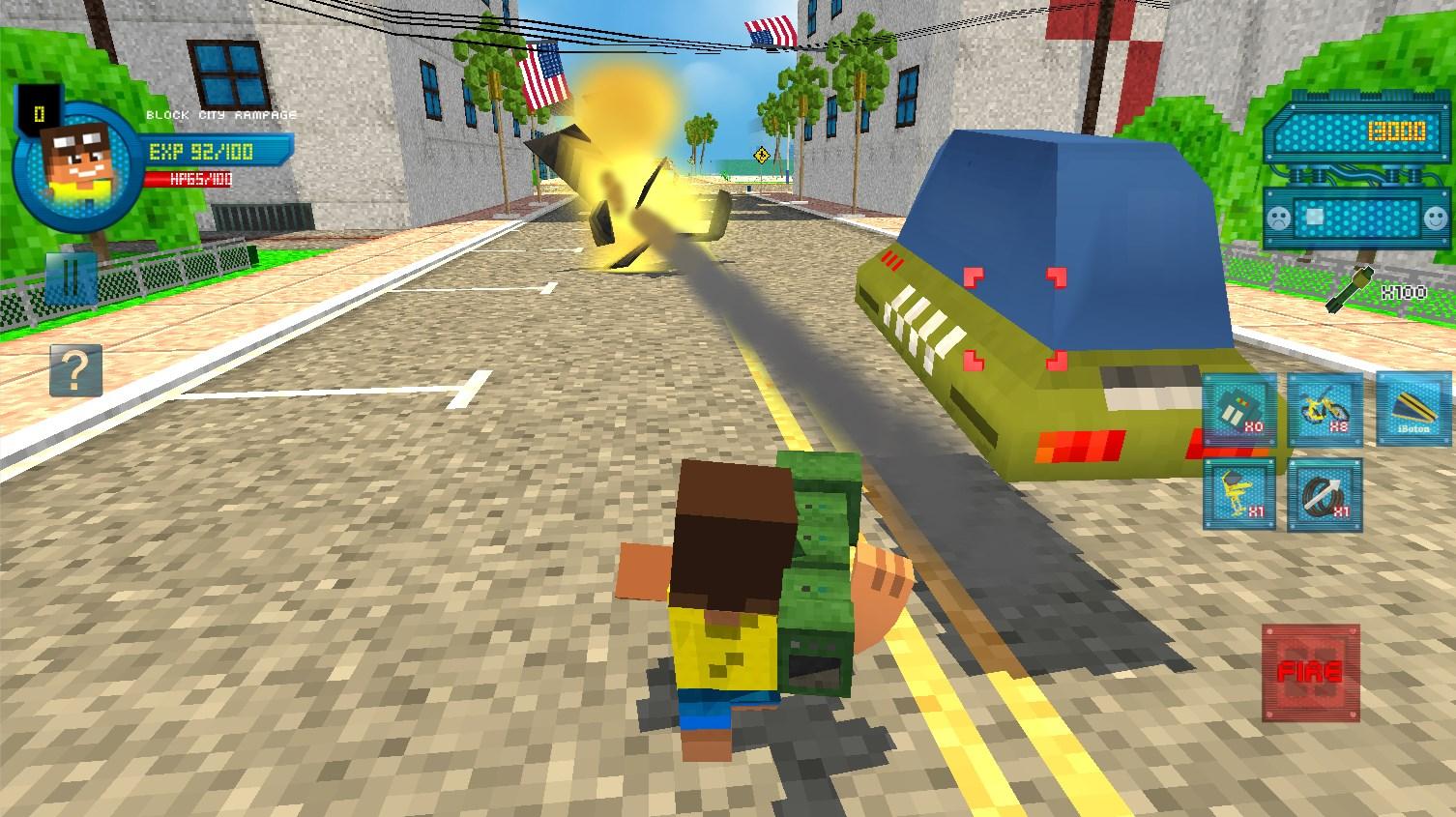 Block City Rampage - Imagem 1 do software