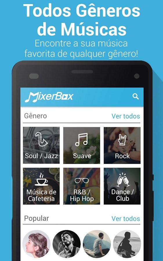 Free Music Player: MixerBox 3.97 Multimedia Androiddro