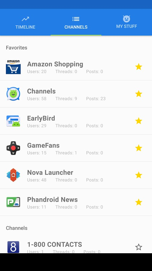 Channels - Forums for Android - Imagem 2 do software