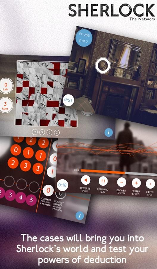 Sherlock: The Network - Imagem 1 do software