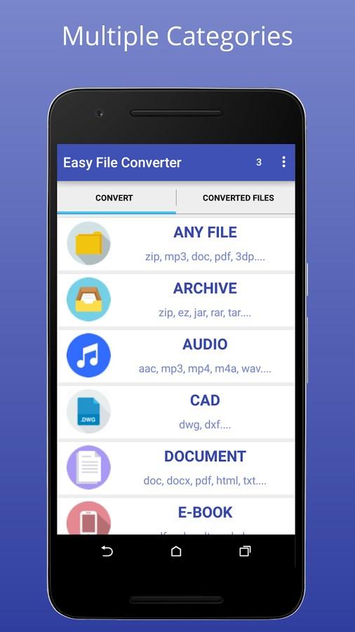 Easy File Converter - Imagem 1 do software