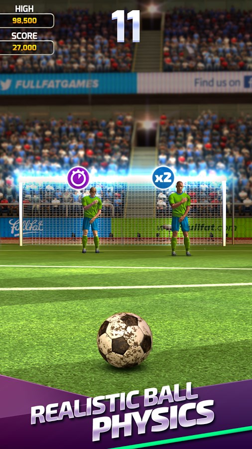 Flick Soccer 17 - Imagem 2 do software