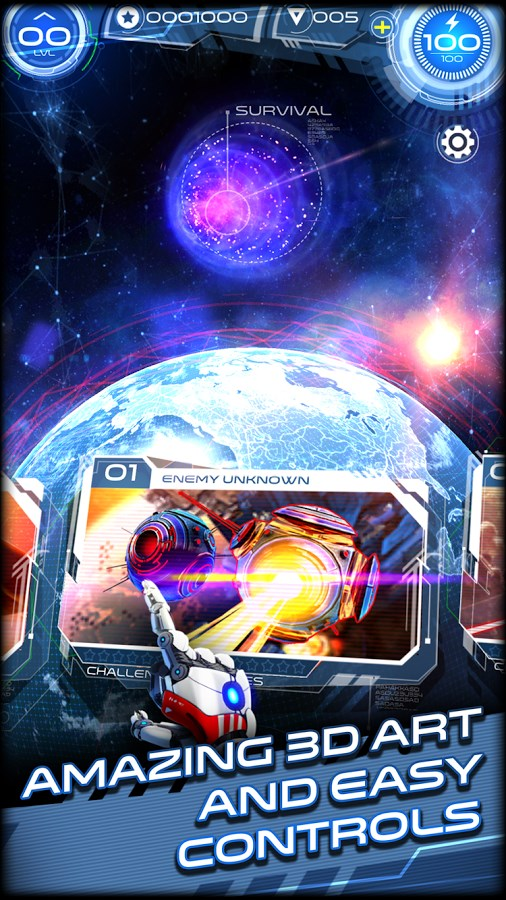 Space Warrior: The Origin - Imagem 1 do software