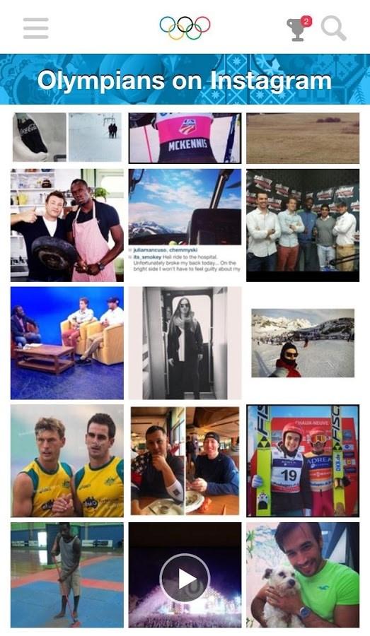 Rio 2016 Social Hub - Imagem 2 do software