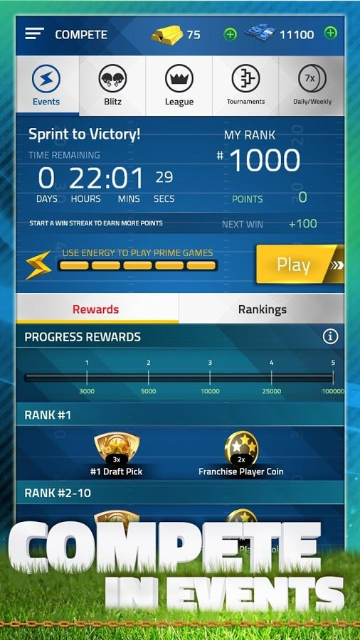 Tap Sports Football 2016 - Imagem 2 do software