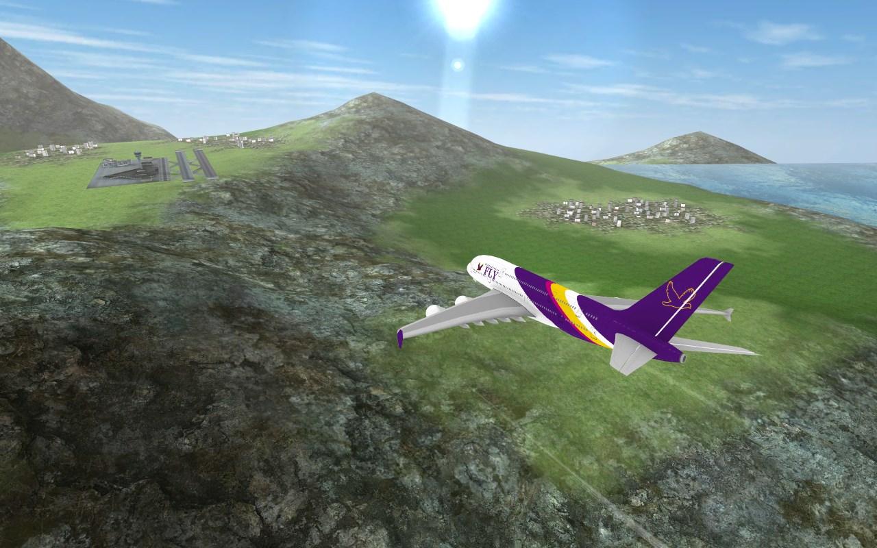 Airplane Flying Flight Pilot - Imagem 1 do software