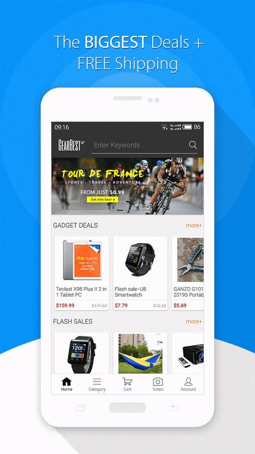GearBest Shopping - Imagem 1 do software