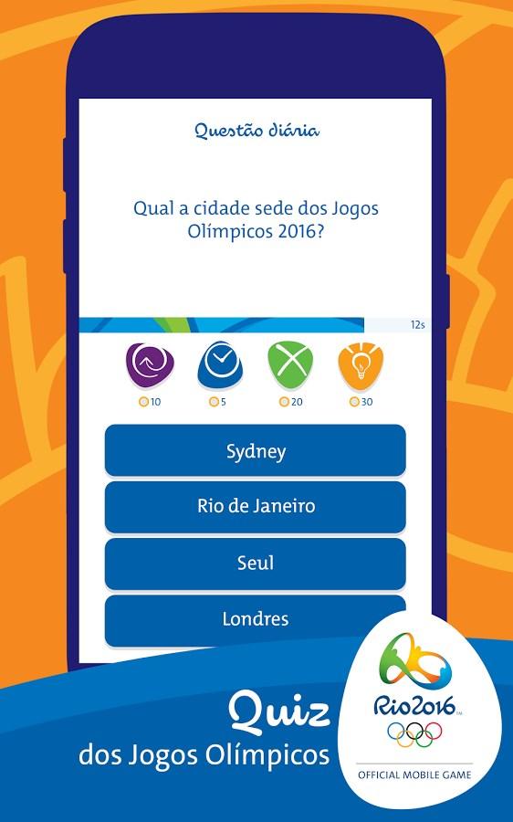 Rio 2016: Quiz - Imagem 1 do software