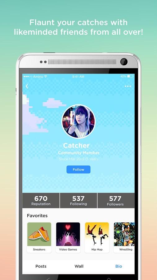 Amino Pokemon Go Finder & Chat - Imagem 2 do software