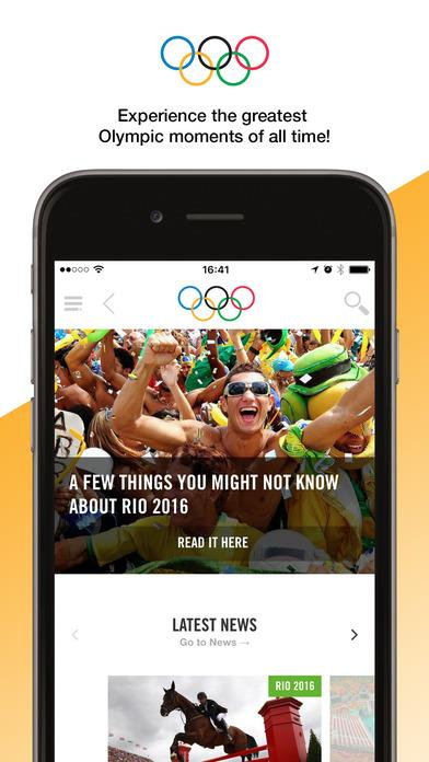 The Olympics - Official App for the Olympic Games - Imagem 1 do software