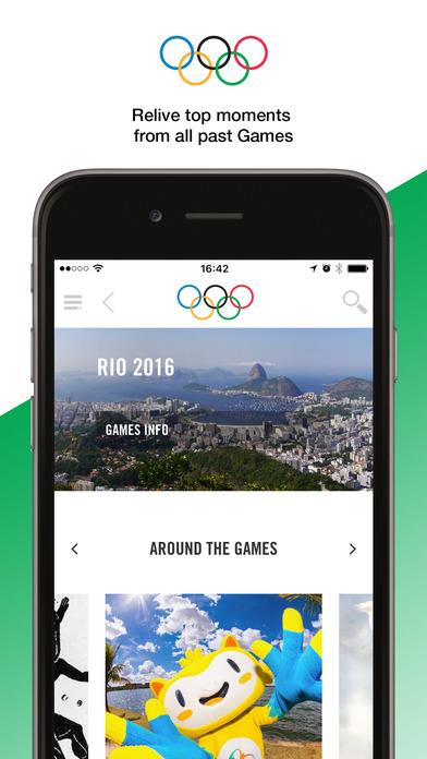 The Olympics - Official App for the Olympic Games - Imagem 2 do software