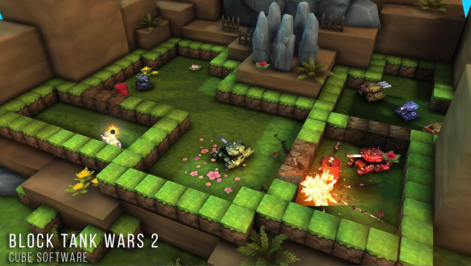 Block Tank Wars 2 - Imagem 1 do software