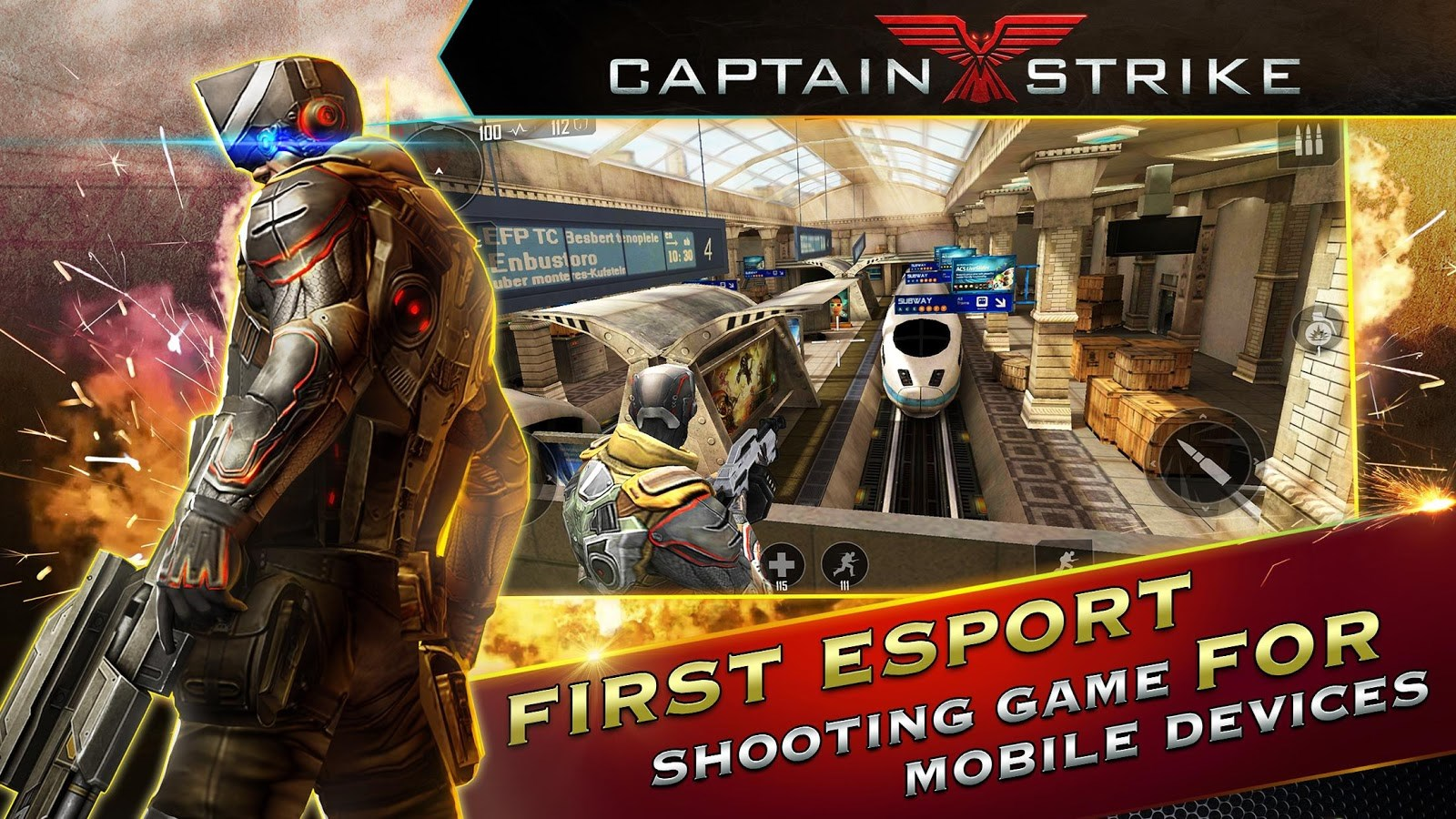 Captain Strike: Reloaded - Imagem 1 do software