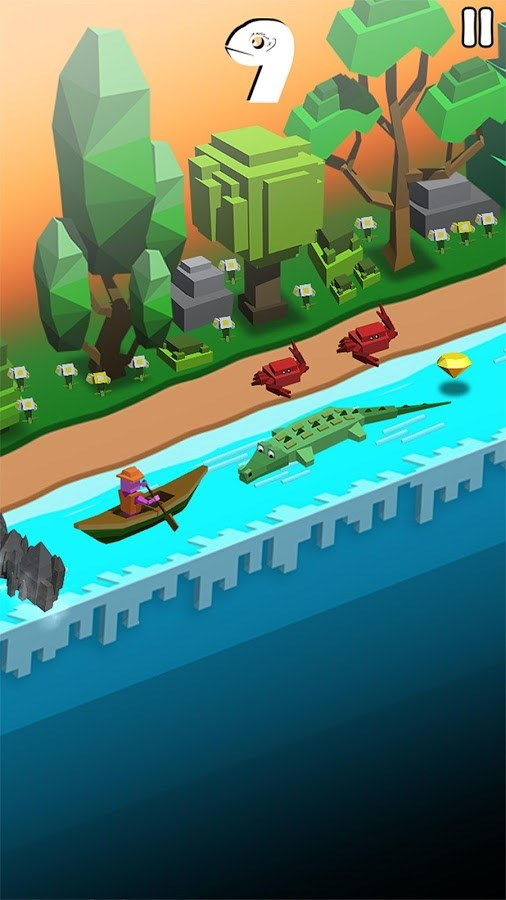 Rolling Rapids - Imagem 1 do software