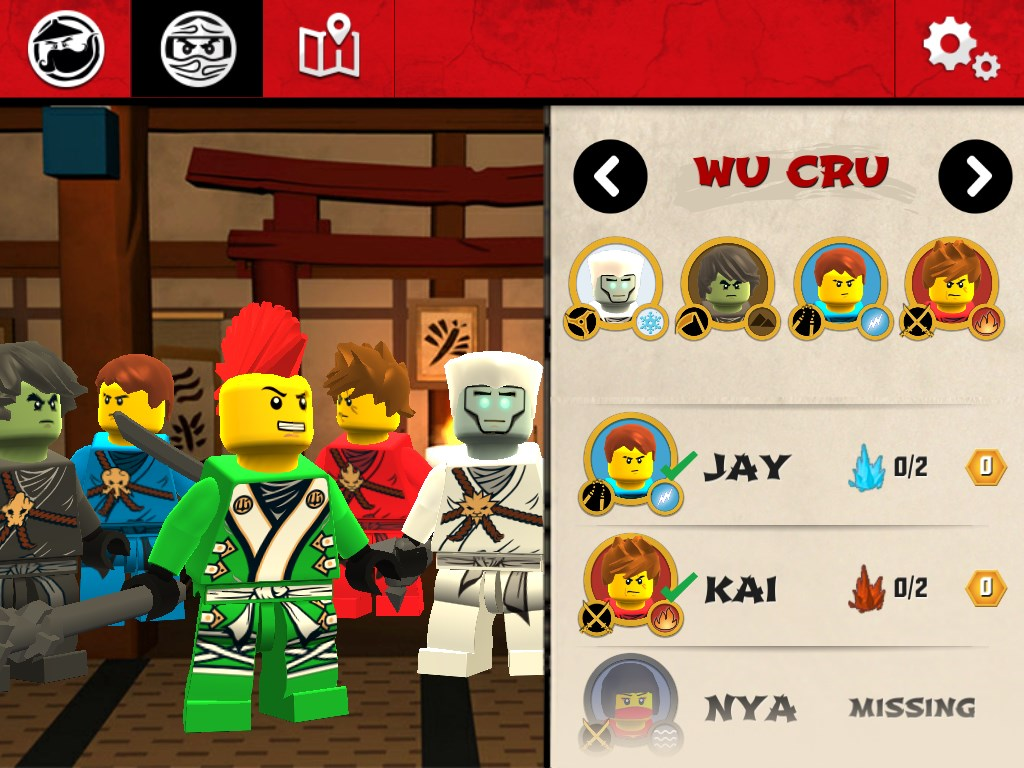 LEGO Ninjago WU-CRU - Imagem 2 do software