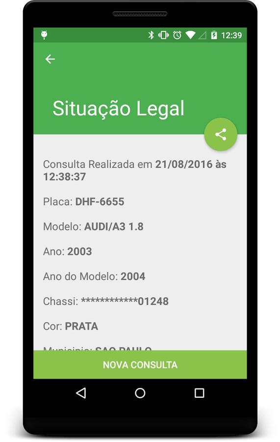 Consulta Placas DETRAN - Imagem 1 do software