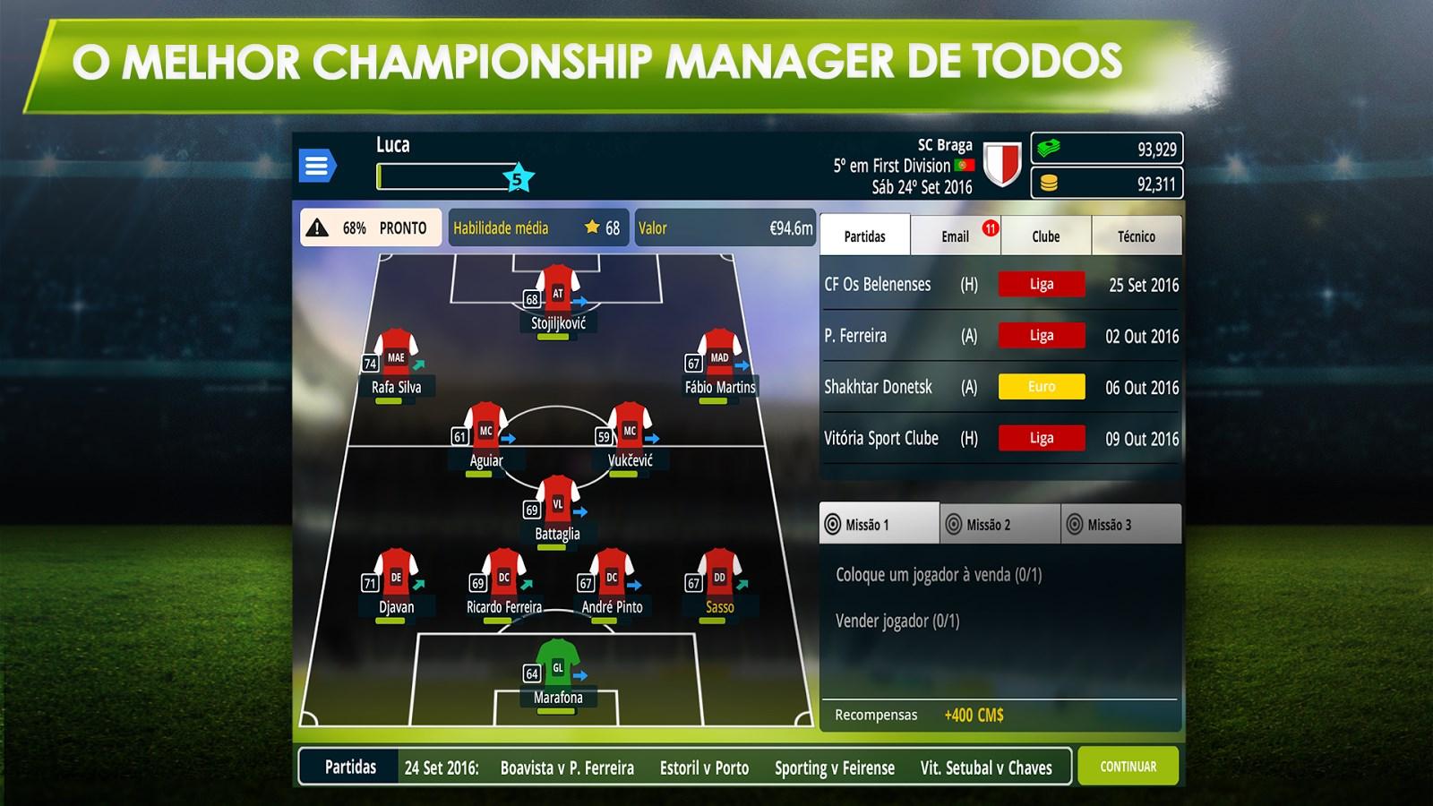 Championship Manager 17 - Imagem 1 do software