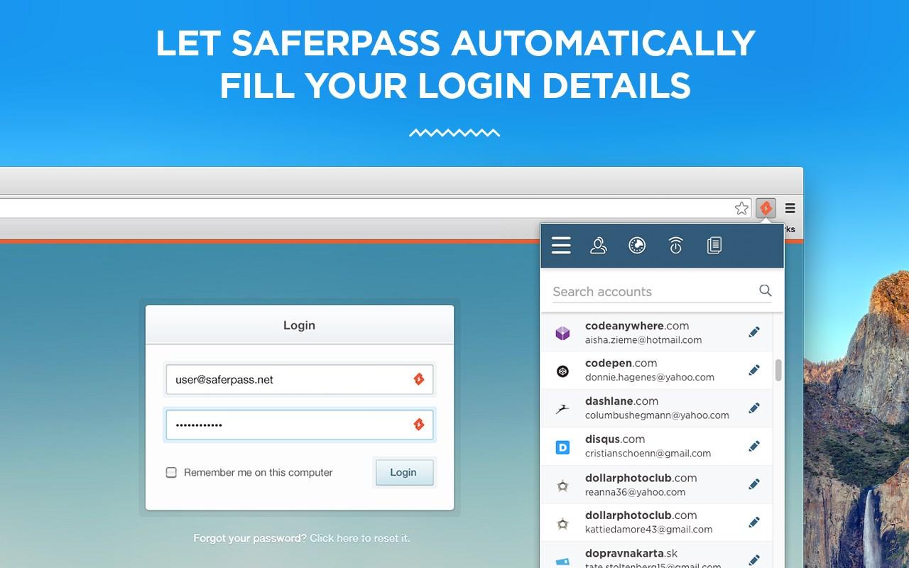SaferPass - Imagem 1 do software