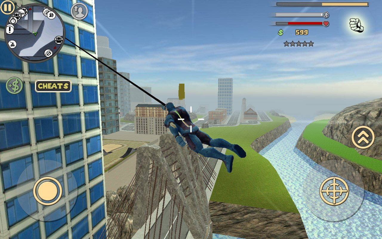 Rope Hero: Vice Town - Imagem 1 do software