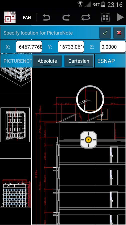 CorelCAD Mobile - Imagem 1 do software