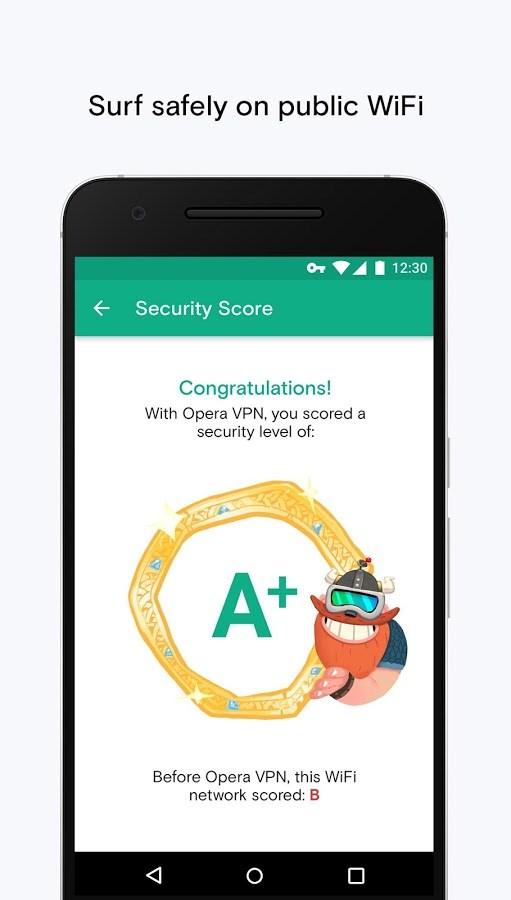 Opera Free VPN - Imagem 2 do software