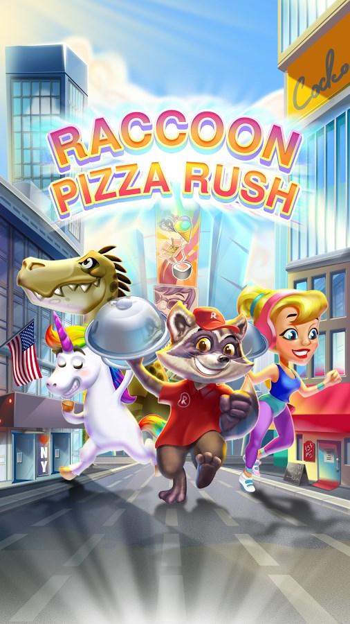 Raccoon Pizza Rush - Imagem 1 do software
