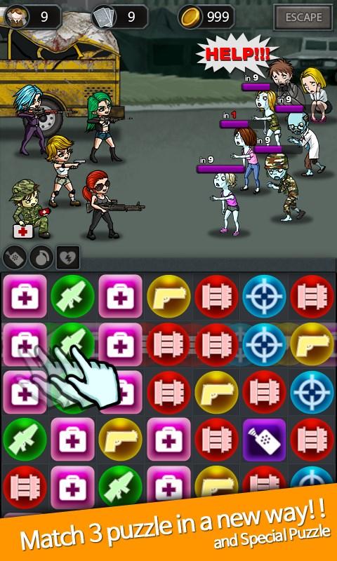 Puzzle And Zombie - Arena - Imagem 1 do software