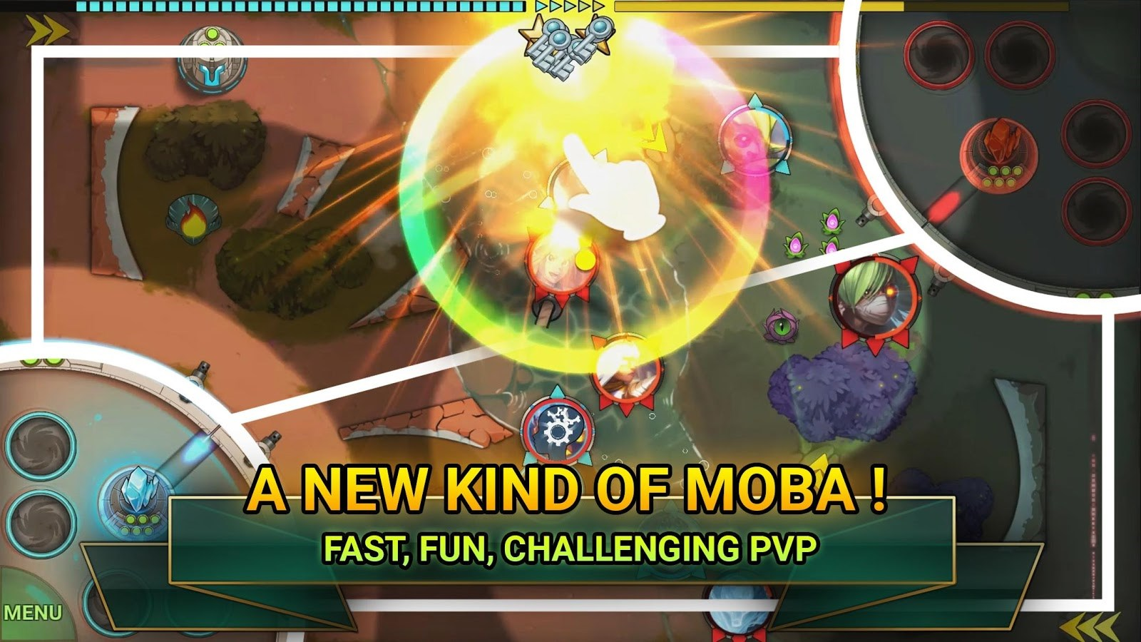 BA Clash - MOBA - Imagem 1 do software