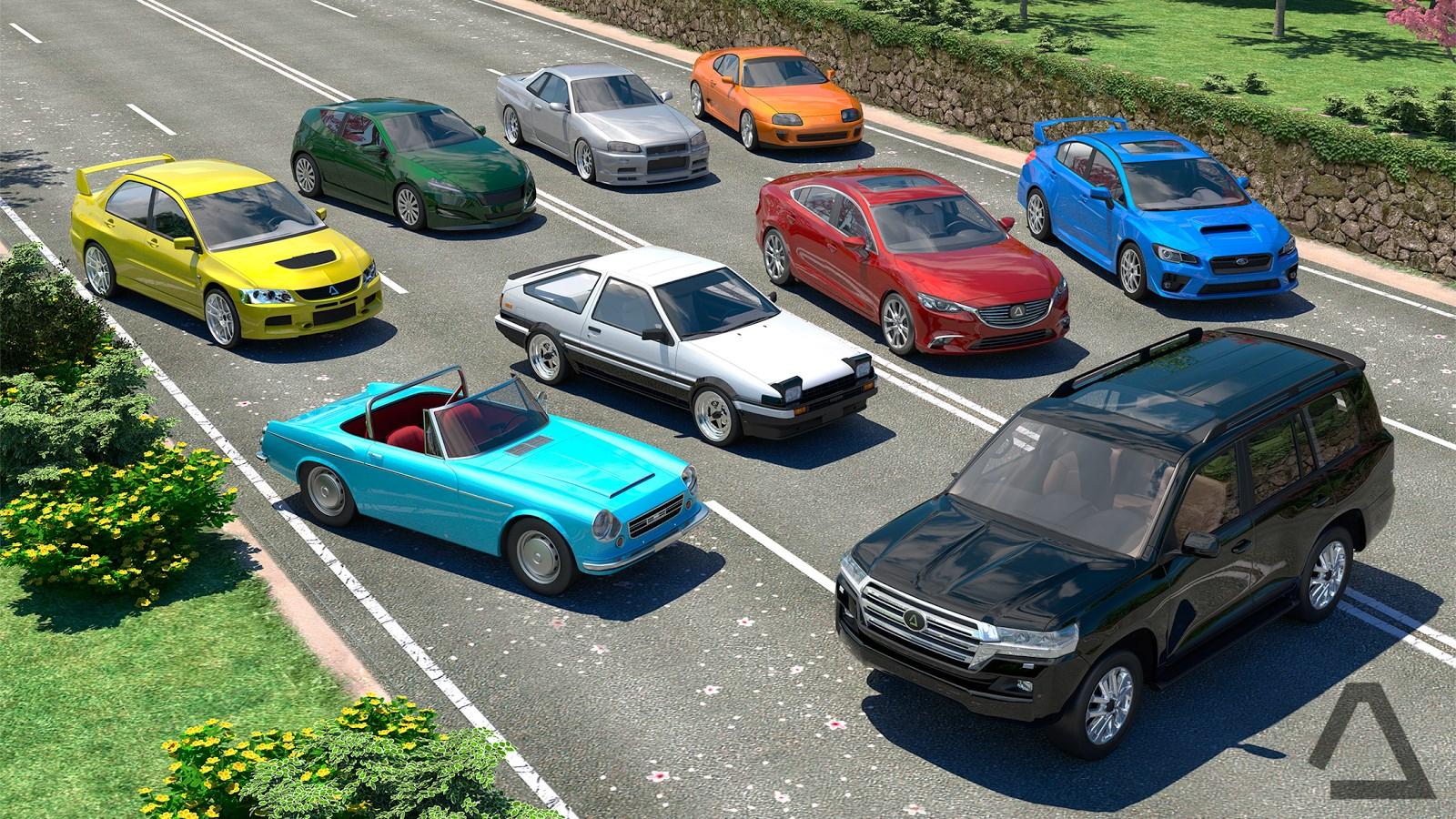 Driving Zone: Japan - Imagem 1 do software