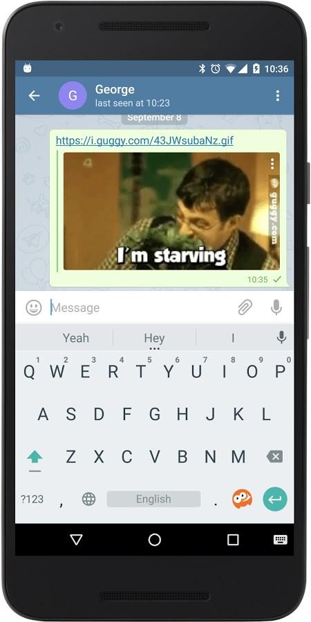 Guggy GIF Message Keyboard - Imagem 2 do software