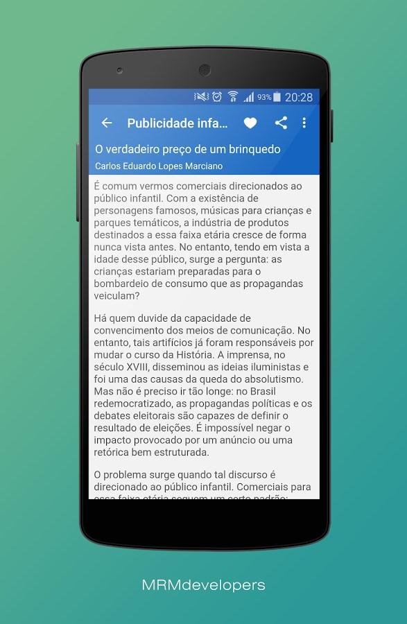 Redação Nota 1000 - ENEM 2016 - Imagem 4 do software