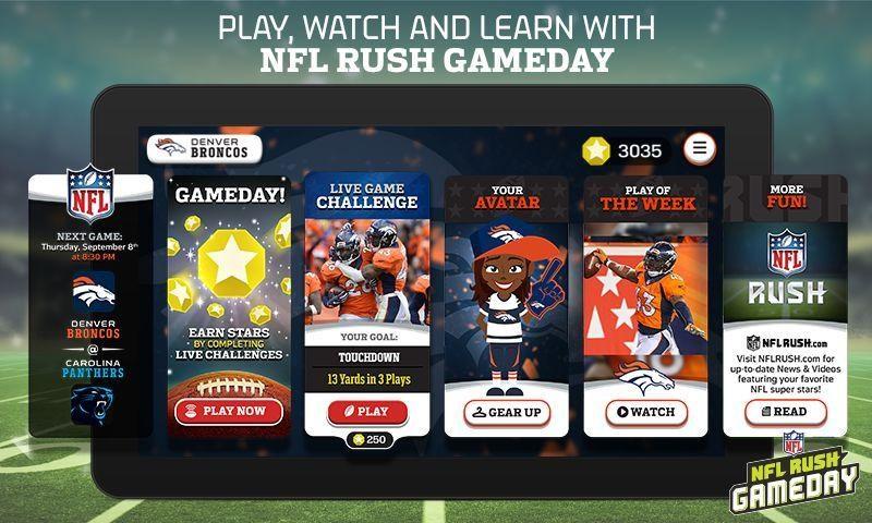 NFL Rush Gameday - Imagem 1 do software