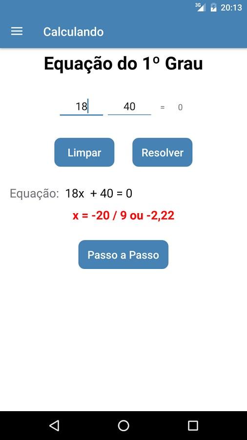Calculando - Imagem 1 do software